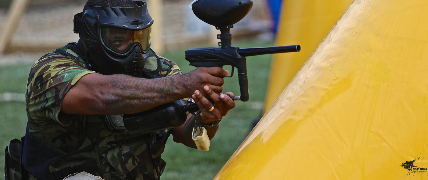 GOG eNMEy Paintball Marker Action Shot